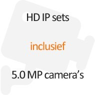 5.0 MP HD IP sets