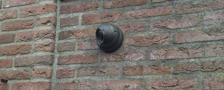 IP camera buiten