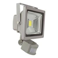 20 watt led bouwlamp met bewegingsmelder