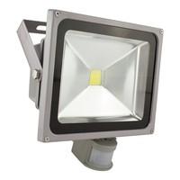 30 watt led bouwlamp met bewegingsmelder