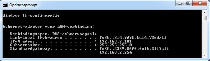 IP adres computer