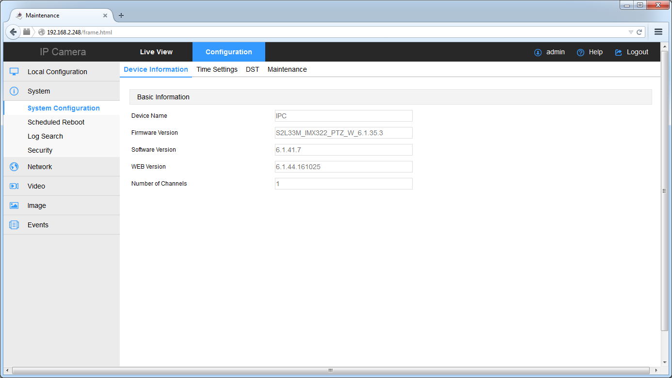 Handleiding voor het updaten van IP camera firmwar - CCTVwinkel