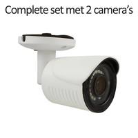 CC-CS02BC4 - 4 kanaals CVR inclusief 2 CC-BC4 camera's