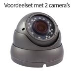 Neview CHD-CS02D1-G - Set met recorder en  2x CHD-D1 IP camera's