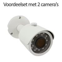 CHD-CS02B3 - Set met recorder en  2x CHD-B3 IP camera's