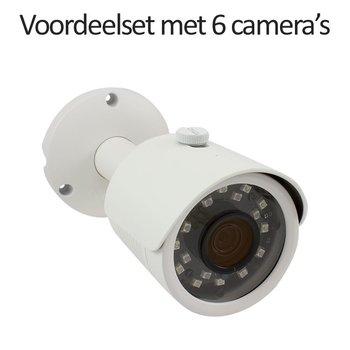 CHD-CS06B3 - 9 kanaals NVR inclusief 6 CHD-B3 IP camera's