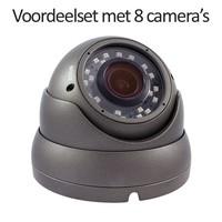 CHD-CS08D1 - 9 kanaals NVR inclusief 8 CHD-D1 IP camera's