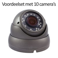 CHD-CS10D1 - 16 kanaals NVR inclusief 10 CHD-D1 IP camera's