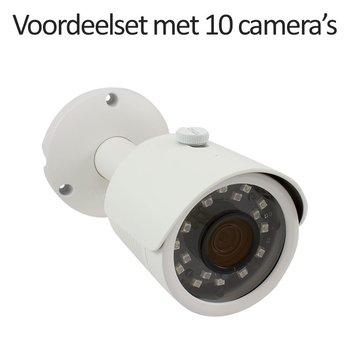 CHD-CS10B3 - 16 kanaals NVR inclusief 10 CHD-B3 IP camera's