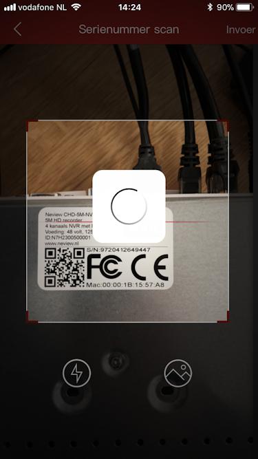 QR code recorder scannen