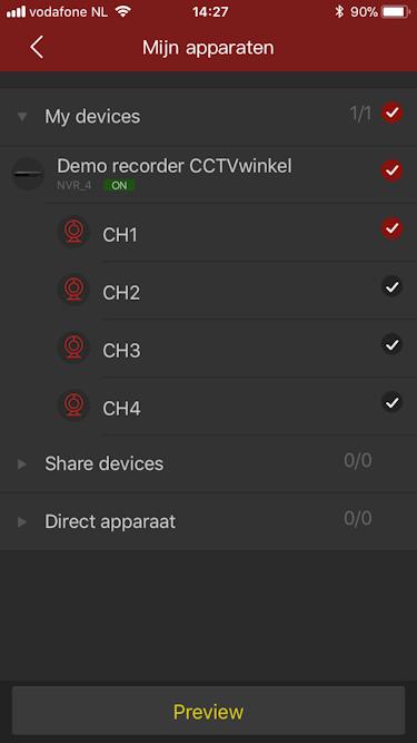 Camera kiezen free IP app