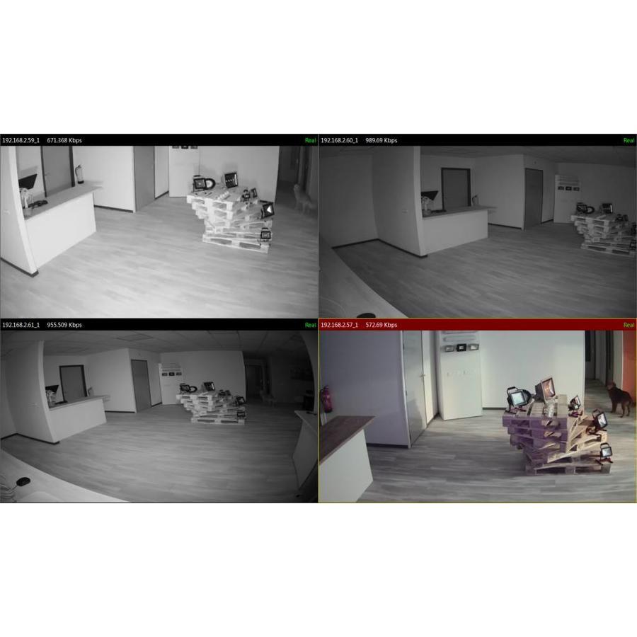 CHD-ST-B7 - Starlight 1080p IP camera met PoE