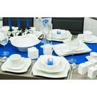 Topkapi Porcelain 90tlg dinner service coffee service tableware service TK-919 Tulip Rain Wave form