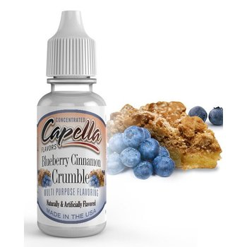 Capella Blueberry Zimt Crumble Flavor