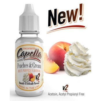 Capella Peaches and Cream v2