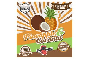 BIG MOUTH CONCENTRATES PINEAPPLE COCONUTS RETRO