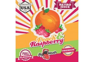 BIG MOUTH CONCENTRATES PEACH RASPBERRY RETRO