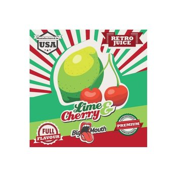 BIG MOUTH CONCENTRATES LIME & CHERRY RETRO