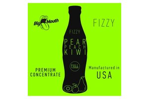 BIG MOUTH CONCENTRATES PEAR PEACH KIWI FIZZY