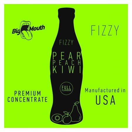 BIG MOUTH CONCENTRATES PEAR KIWI PEACH FIZZY