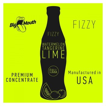 BIG MOUTH CONCENTRATES WATERMELON LIMETTE TANGERINE FIZZY