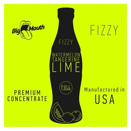 BIG MOUTH CONCENTRATES WATERMELON LIME TANGERINE FIZZY