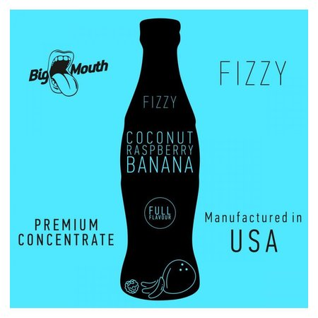 BIG MOUTH CONCENTRATES COCONUT RASPBERRY BANANA FIZZY