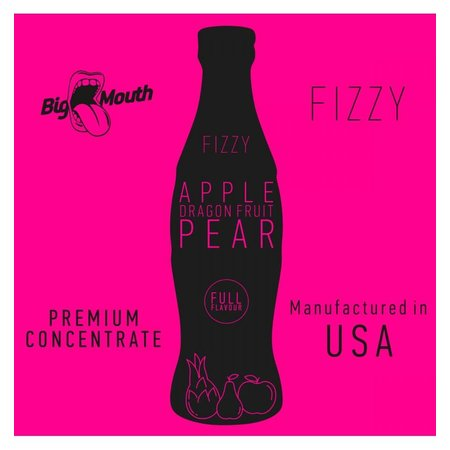 BIG MOUTH CONCENTRATES APPLE PEAR DRAGON FIZZY