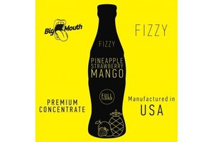 BIG MOUTH CONCENTRATES PINEAPPLE STRAWBERRY MANGO FIZZY