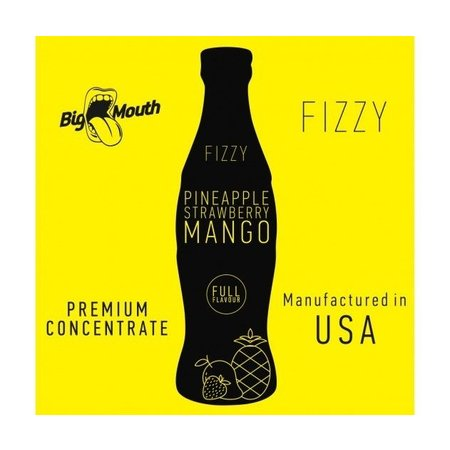 BIG MOUTH CONCENTRATES PINEAPPLE ERDBEERE MANGO FIZZY