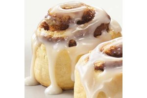 Flavor West Cinnamon Roll