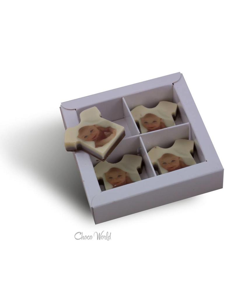 Chocolaterie Vink Chocolade T-Shirts melk A4 stuks