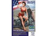 MASTER BOX Pin-up series, Kit No. 1 Marylin 1/24