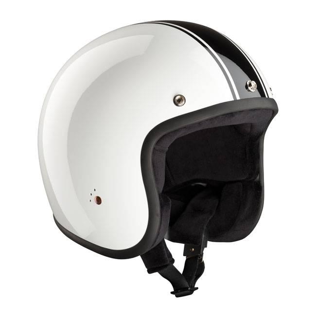 Bandit White with black stripe - Bandit