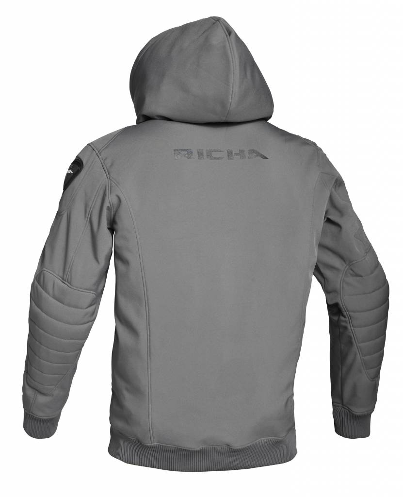 Richa Atom Hoodie Grey - Richa