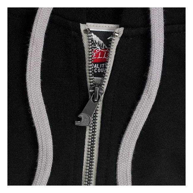 Biltwell Zip Hoodie Icon Black - Biltwell