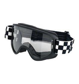 Biltwell Moto 2.0 Goggles Checkers - Biltwell