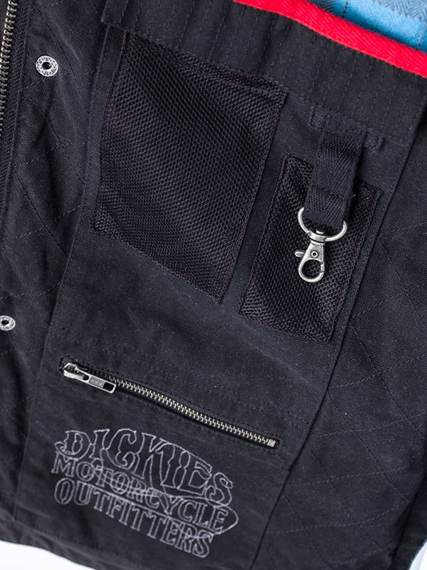 Dickies Outrider wax Charcoal Jacket - Dickies