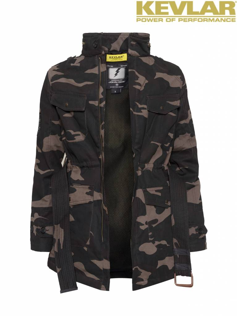 John Doe Fieldjacket Camouflage - John Doe