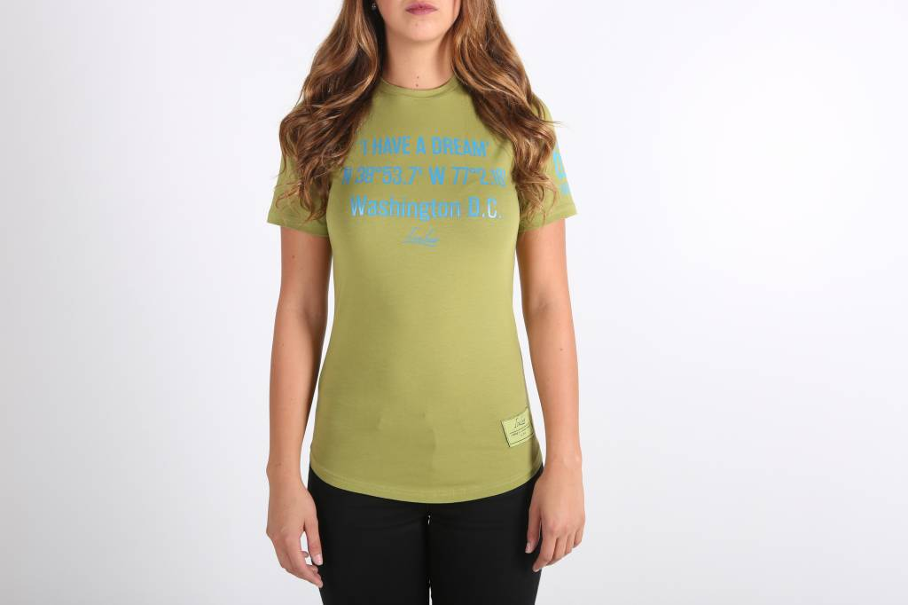 Icelus Clothing 'I have a dream' Tee Green Women