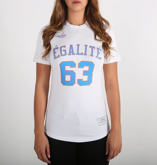 Icelus Clothing Égalité Tee White Women