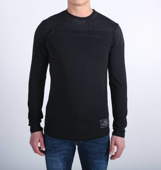 Icelus Clothing Wing Longsleeve Black