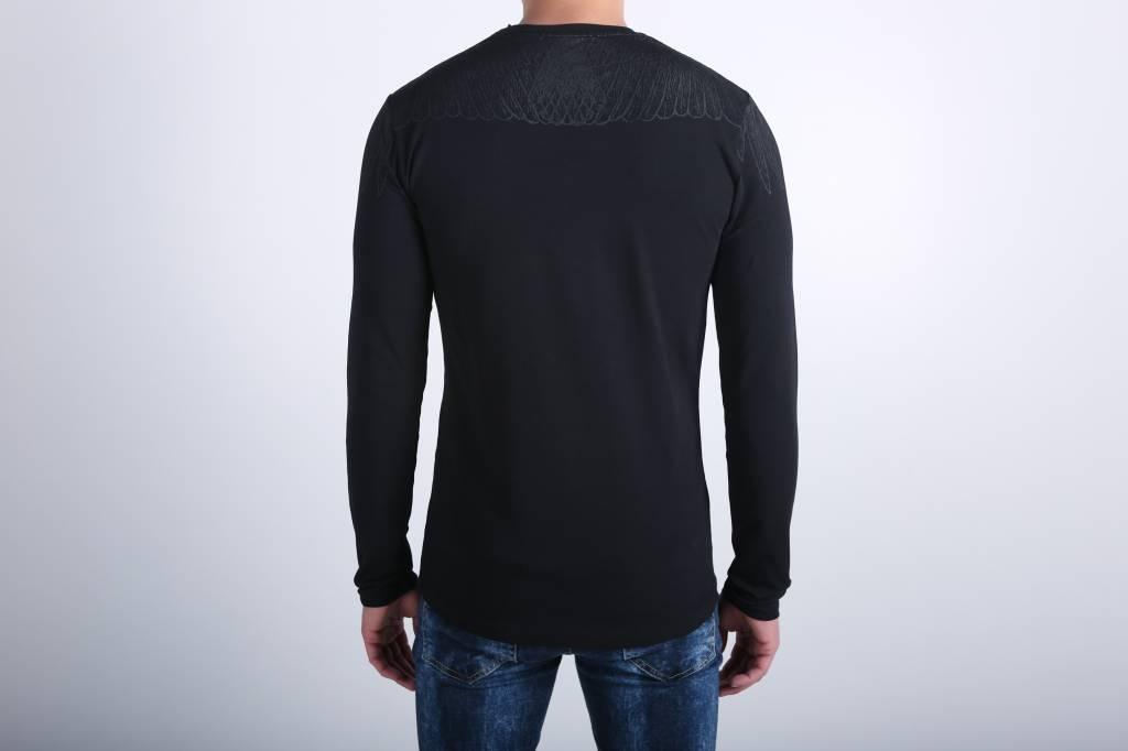Icelus Clothing Wing Longsleeve Black