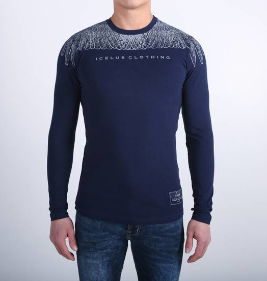 Icelus Clothing Wing Longsleeve Blue