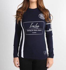 Icelus Clothing Football Jersey Blue Women