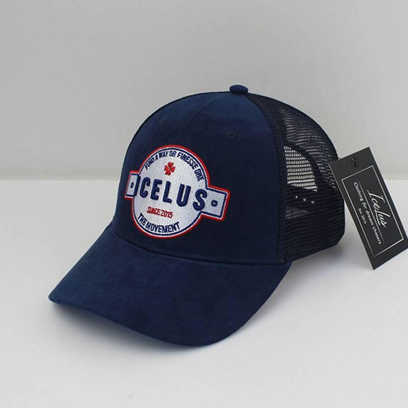 Icelus Clothing Suede Cap Blue