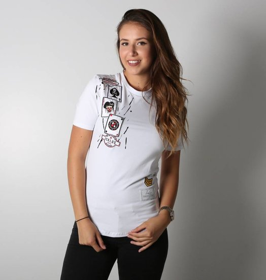 Icelus Clothing Casino Series White Women