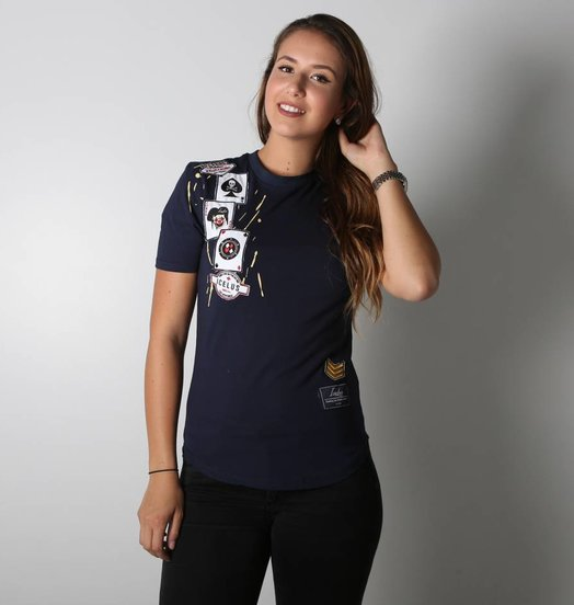 Icelus Clothing Casino Series Blue Women