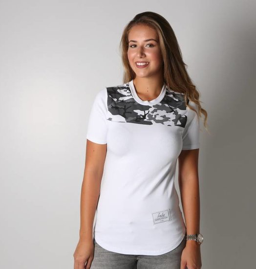 Icelus Clothing Camo Series White Women