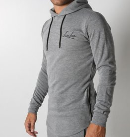Icelus Clothing Tech Fleece Hoody Grey